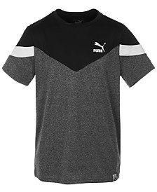 Puma Big Boys Colorblocked T-Shirt