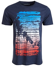 Univibe Men's Pico Boulevard Graphic T-Shirt