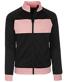 Big Girls Colorblocked Track Jacket, Created for Macy's