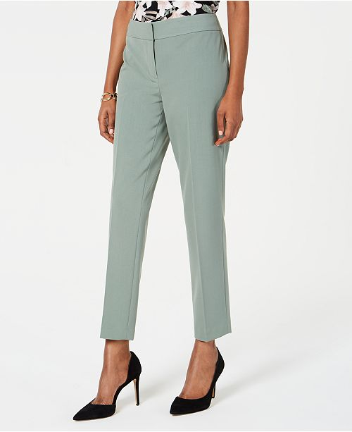 Nine West Straight-Leg Ankle Pants