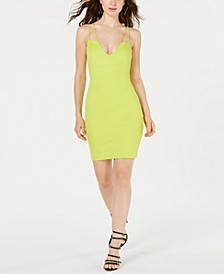 Sleeveless Strappy-Back Bodycon Dress