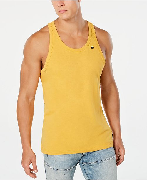Top-Mode neuesten Stil von 2019 beste Qualität Men's Solid Tank Top, Created for Macy's