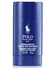 Ralph Lauren Men's Polo Blue Deodorant Stick, 2.6 oz