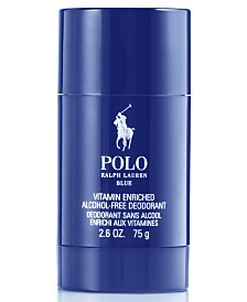 Ralph Lauren Men's Polo Blue Deodorant Stick, 2.6 oz
