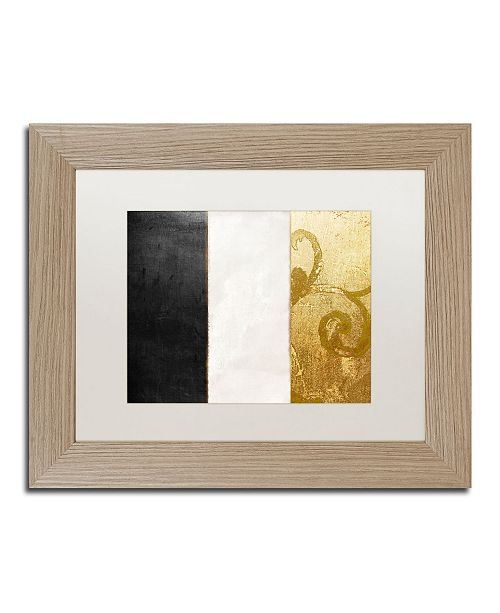 "Trademark Global Color Bakery 'Fashion Flag II' Matted Framed Art - 11"" x 14"""