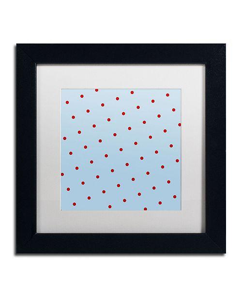 "Trademark Global Color Bakery 'Group 10 B' Matted Framed Art - 11"" x 11"""