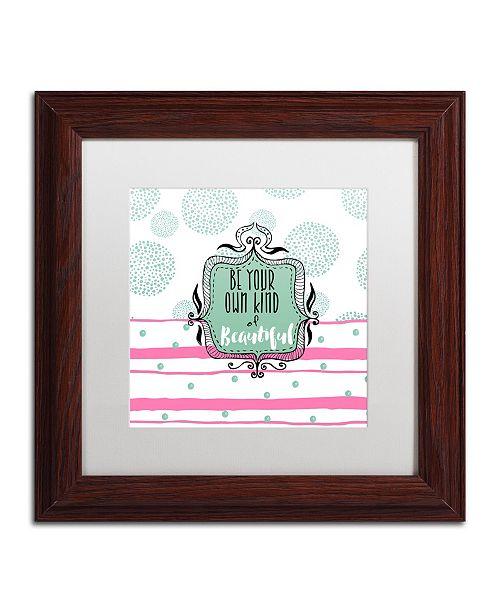 "Trademark Global Color Bakery 'Soul Food III' Matted Framed Art - 11"" x 11"""