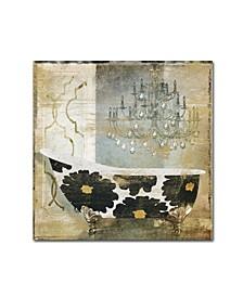 "Color Bakery 'Paris Bath I' Canvas Art - 18"" x 18"""