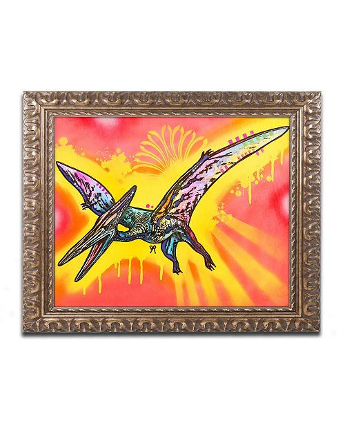 "Trademark Global Dean Russo 'Pterodactyl' Ornate Framed Art - 16"" x 20"""