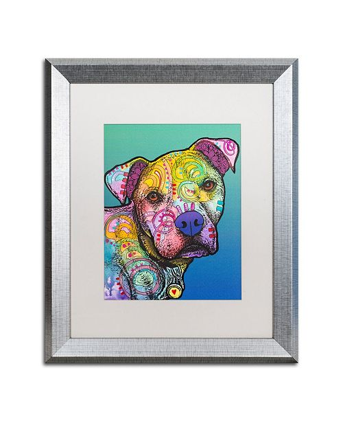"Trademark Global Dean Russo 'Zeus Custom 004' Matted Framed Art - 16"" x 20"""