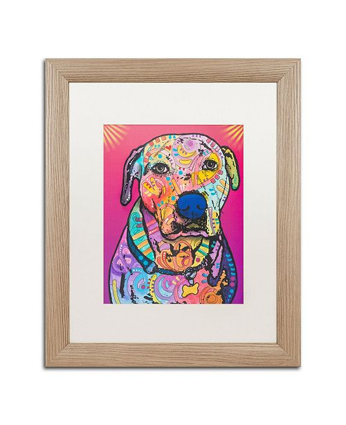 "Trademark Global Dean Russo 'Chancey' Matted Framed Art - 16"" x 20"""