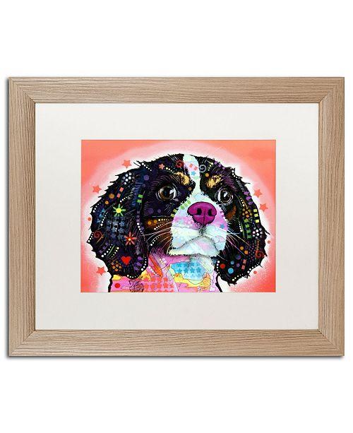 "Trademark Global Dean Russo 'King Charles' Matted Framed Art - 16"" x 20"""