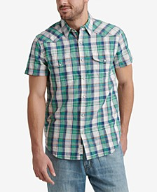Men's Regular-Fit Plaid Shirt