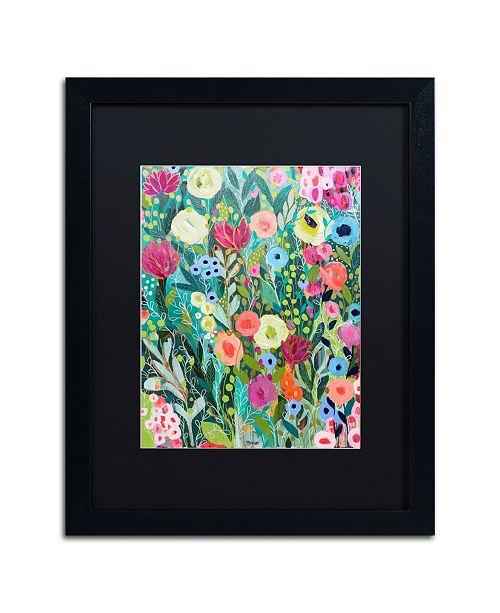 """Trademark Global Carrie Schmitt 'Into the Depths' Matted Framed Art - 16"""" x 20"""""""