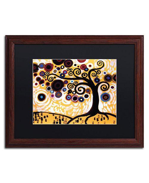 "Trademark Global Natasha Wescoat '010' Matted Framed Art - 16"" x 20"""