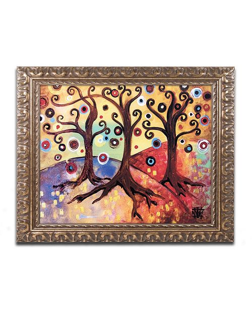 "Trademark Global Natasha Wescoat '014' Ornate Framed Art - 16"" x 20"""