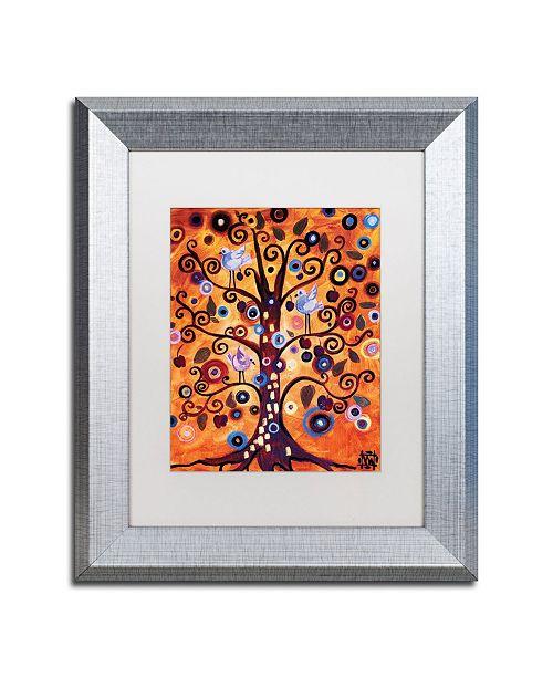 "Trademark Global Natasha Wescoat '016' Matted Framed Art - 11"" x 14"""