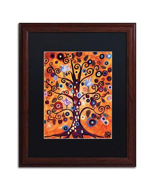 "Trademark Global Natasha Wescoat '016' Matted Framed Art - 16"" x 20"""