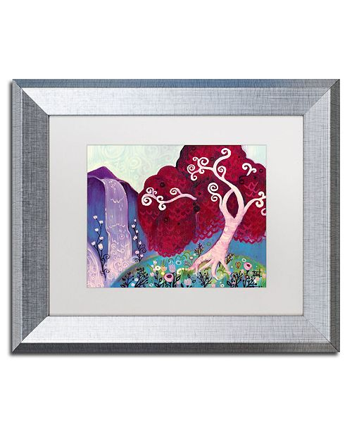 "Trademark Global Natasha Wescoat '031' Matted Framed Art - 11"" x 14"""