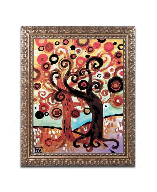 "Trademark Global Natasha Wescoat '072' Ornate Framed Art - 11"" x 14"""