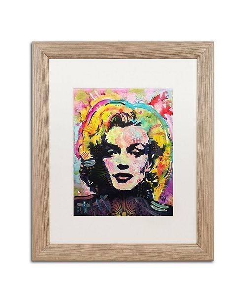 "Trademark Global Dean Russo 'Marilyn 2' Matted Framed Art - 16"" x 20"""
