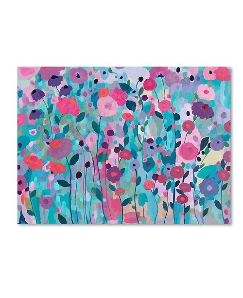 """Trademark Global Carrie Schmitt 'Joy Unleash' Canvas Art - 18"""" x 24"""""""