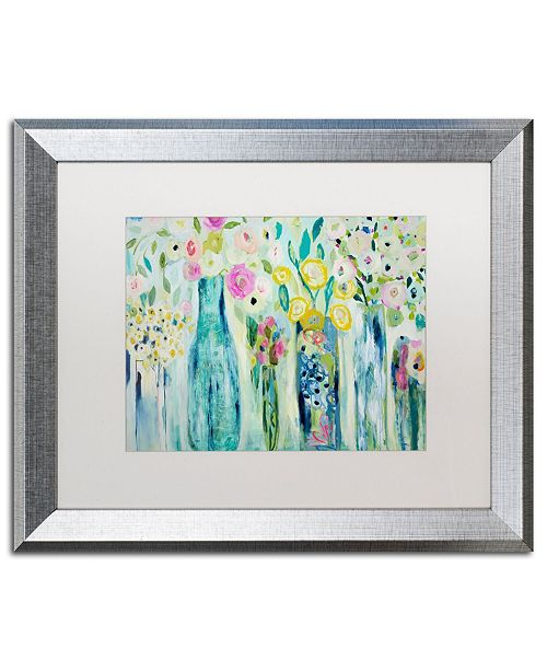 """Trademark Global Carrie Schmitt 'Dhyana' Matted Framed Art - 16"""" x 20"""""""