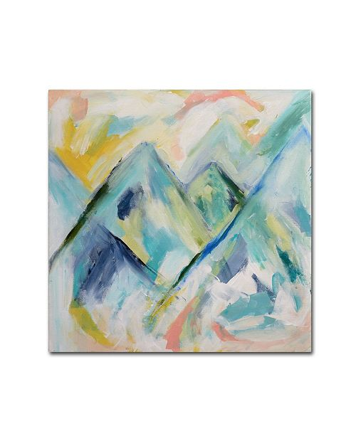 "Trademark Global Carrie Schmitt 'Mile High' Canvas Art - 14"" x 14"""