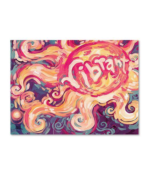 "Trademark Global Natasha Wescoat '118' Canvas Art - 18"" x 24"""