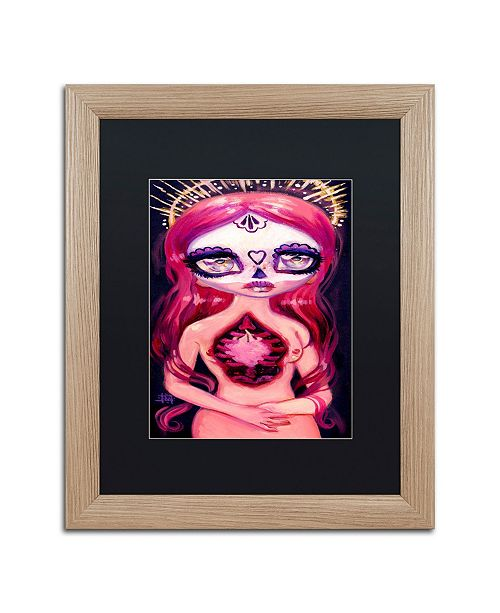 "Trademark Global Natasha Wescoat 'Deeply Fated' Matted Framed Art - 16"" x 20"""