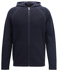 BOSS Men's Seeger 12 Hybrid Zip-Through Sweatshirt