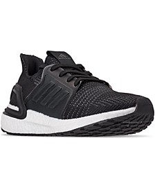 Big Boys' UltraBOOST 19 Running Sneakers from Finish Line
