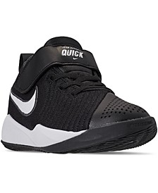 Little Boys Team Hustle Quick 2 Stay-Put Closure Basketball Sneakers from Finish Line
