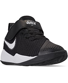 Nike Little Boys' Team Hustle Quick 2 Basketball Sneakers from Finish Line