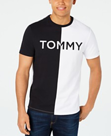 Tommy Hilfiger Men's Berra Colorblocked Logo Graphic T-Shirt