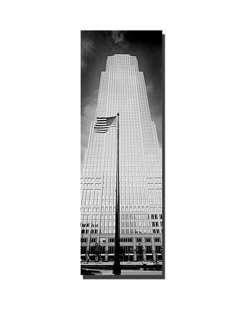 "Trademark Global Cleveland by Preston Canvas Art - 16"" x 48"""