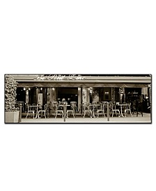 "Petit Zinc' by Preston Canvas Art - 24"" x 8"""