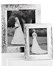 Vera Wang Wedgwood Hammered Picture Frame Collection