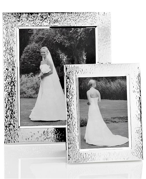 Vera Wang Wedgwood Hammered Picture Frame Collection Picture