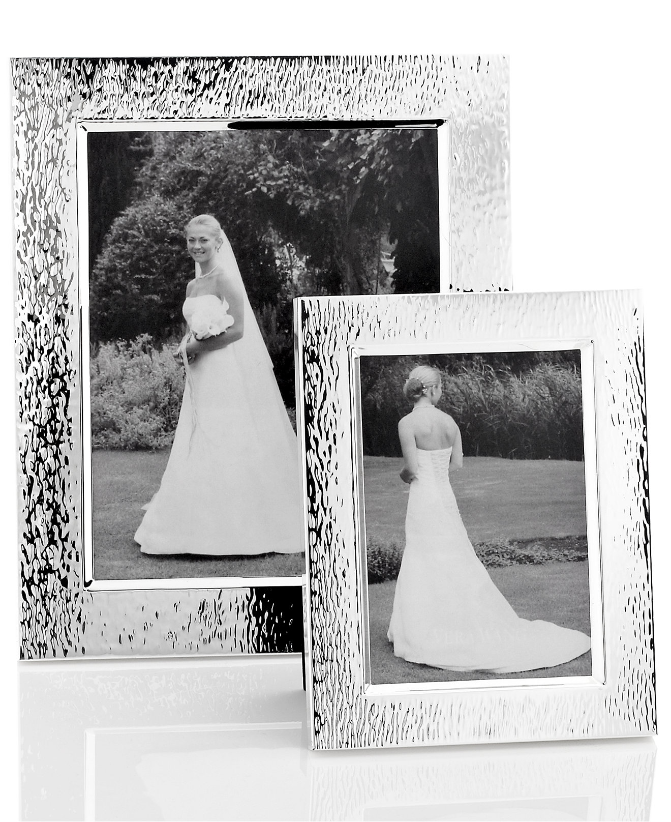 vera wang wedgwood hammered picture frame collection picture frames macys