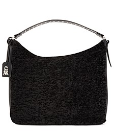 Sonia Faux- Shearling Hobo