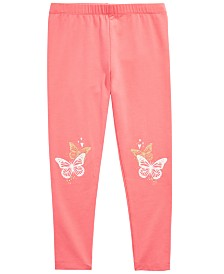 Epic Threads Little Girls Butterfly Leggings, Created for Macy's