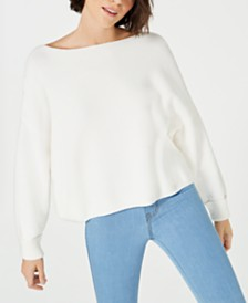 French Connection Mozart Cotton Boat-Neck Sweater