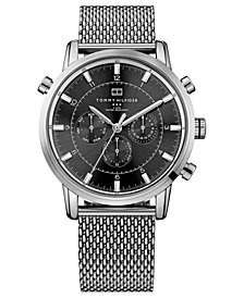 Tommy Hilfiger Men's Stainless Steel Mesh Bracelet Watch 44mm 1790877