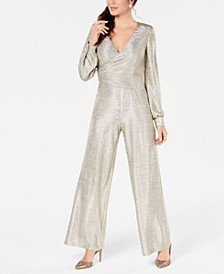 Metallic Jersey Jumpsuit