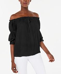 Black Tops for Women - Macy's