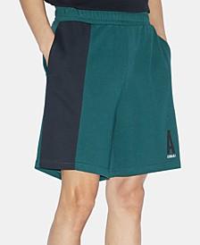 Men's Elastic Fleece Logo Shorts