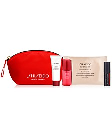Free 5pc beauty gift with $100 Shiseido purchase