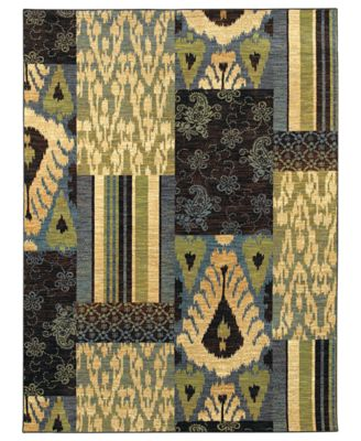 Shaw Living Rugs, American Abstracts 13400 Phoenicia Blue