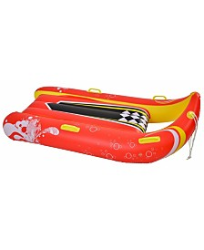 """Blue Wave Sports Power Glider 57"""" 2-Person Inflatable Snow Sled"""